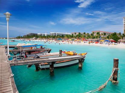 Aruba On A Caribbean Vacation