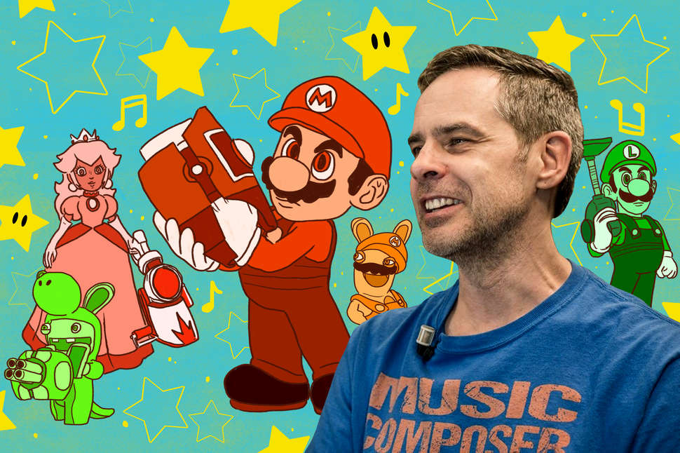 Inside Grant Kirkhope's Mario Music and Nintendo Video Game
