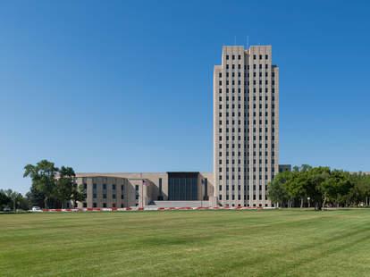 North Dakota State Capitol, Bismarck, North Dakota