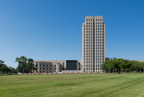 North Dakota State Capitol, Bismarck, North Dakota