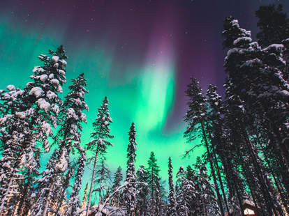 northern lights in the us