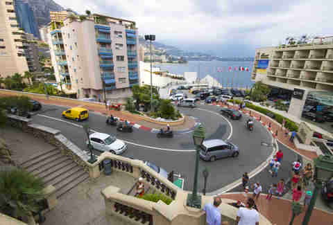 The Fairmont Hairpin