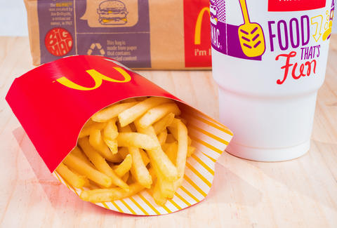McDonald's underfills fries