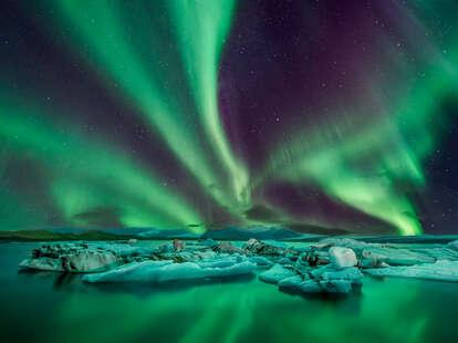 northern lights forecast US