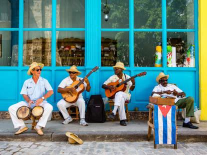 Musicians in Havana, Cuba