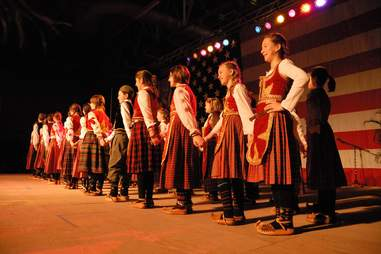 Holiday Folk Fair International