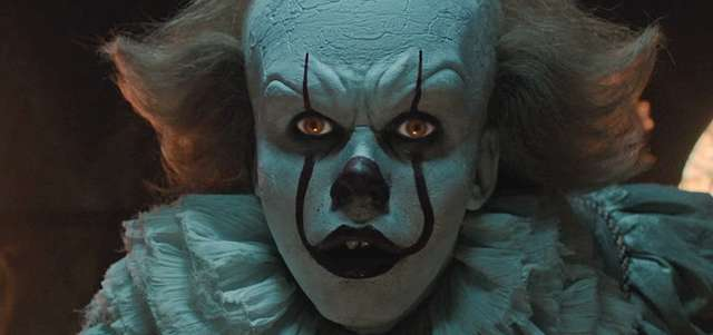 pennywise the clown IT movie 2017