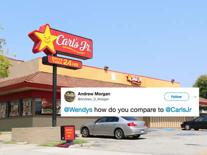 wendy's twitter carl's jr