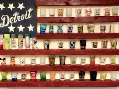The 9 Coolest Shot Glass Display Ideas