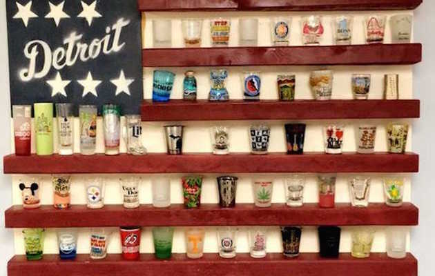 9 Brilliant Ways to Display Your Shot Glasses