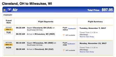 cheap flights around the US