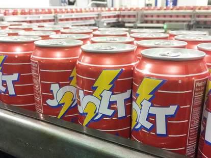 jolt cola cans