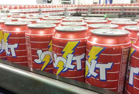 jolt cola cans