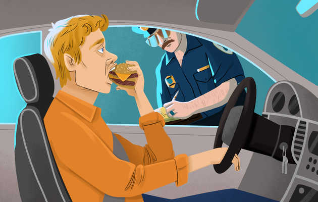 Why Eating While Driving Should Be Illegal