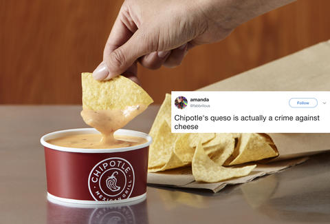 Chipotle Queso Reviews: Twitter Reacts to the New Cheese Dip
