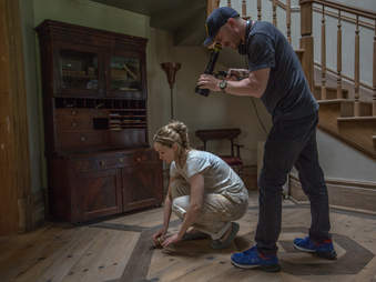 jennifer lawrence and darren aronofsky on mother