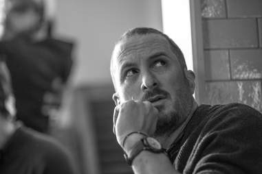 darren aronofsky on mother set