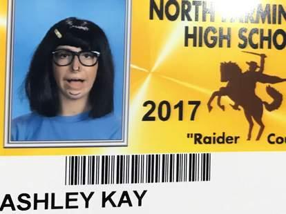 funny school IDs