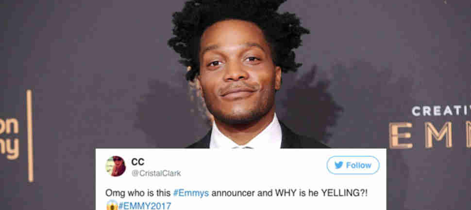People Had Very Strong Opinions About the New Emmys Announcer