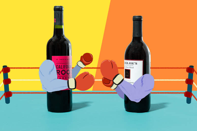 2b5dd4009c2e Target  5 Wine vs. Two Buck Chuck  Which Cheap Wine Is the Best ...