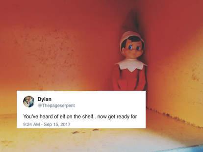 elf on the shelf meme