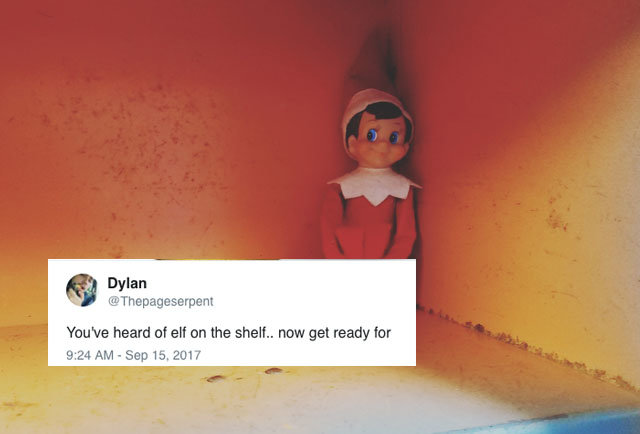 Elf on the Shelf Is the Source of the Latest Absurd Meme ...