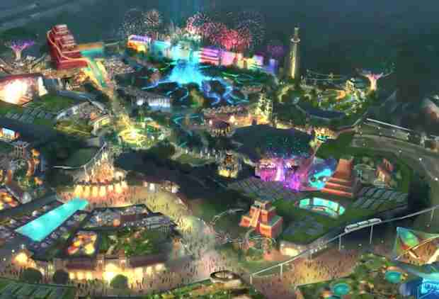Mexico's Opening a Giant Theme Park to Compete With Disney World