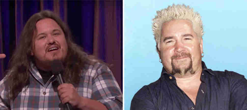 This Comedian Hilariously Defends Guy Fieri, and He's Got a Point