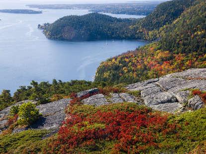Acadia National Park Maine Autumn