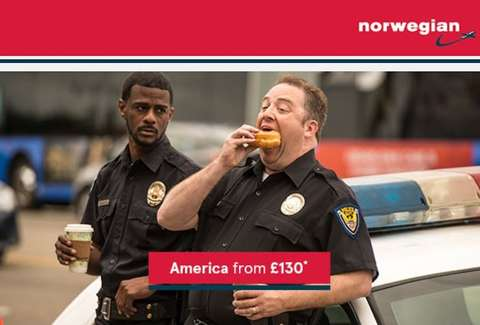 Norwegian airlines ad