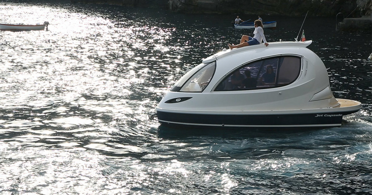 Jet Capsule Mini Yachts By Lazzarini Design Thrillist