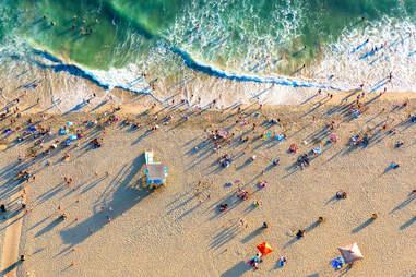 beaches la