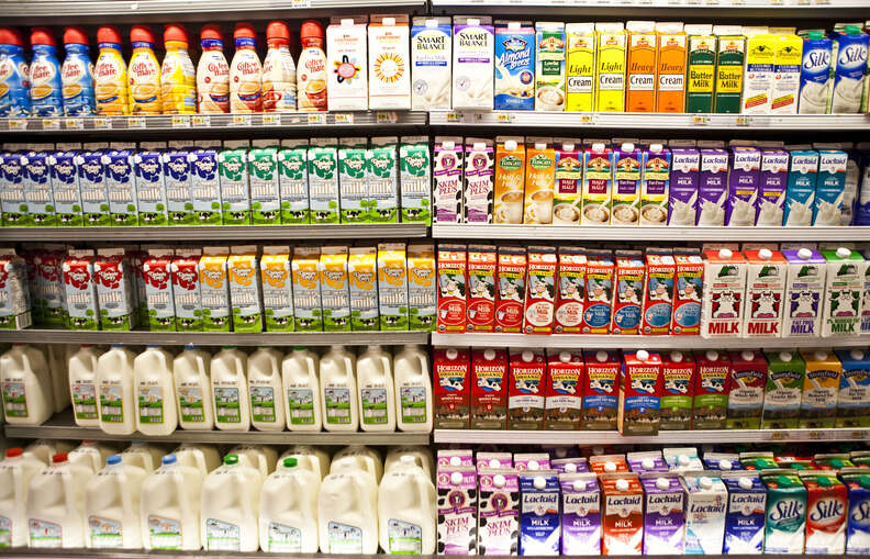 dairy aisle