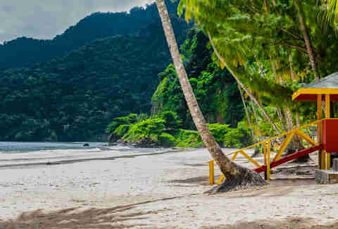 Maracas beach, trinidad and tobago