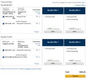 singapore flights