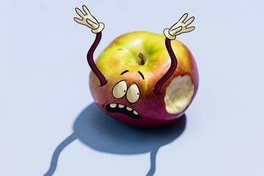 macoun cartoon apple