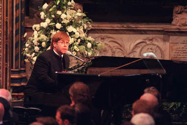 elton john princess diana funeral candle in the wind