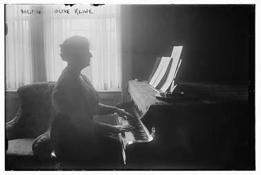 Olive Kline 1915