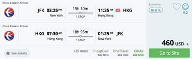 cheap flights to china