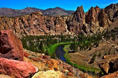Smith Rock State Park near Bend, OR