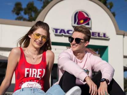 taco bell x forever 21 clothing line