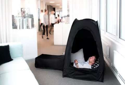 the pause pod twitter reacts to sleeping pop up tent thrillist