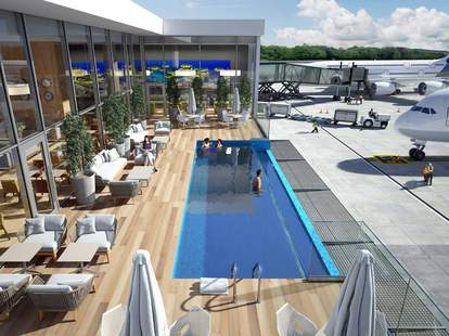 punta cana airport pool