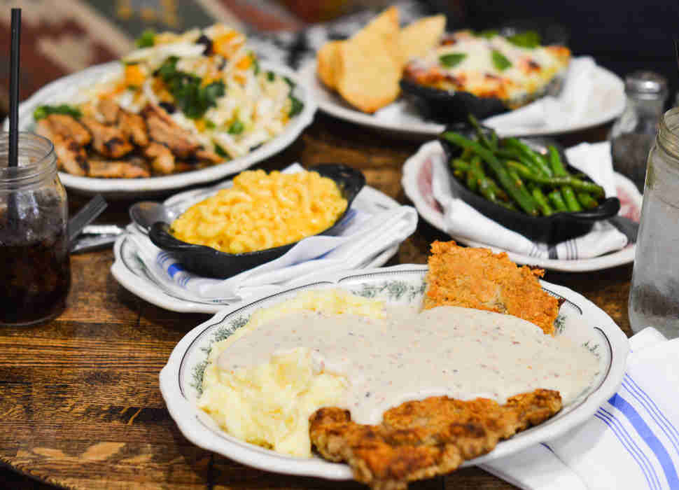 chicken fried steak, pioneer woman, the mercantile
