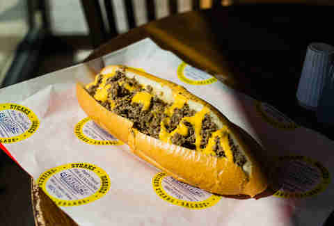 Abner's cheesesteaks Philly