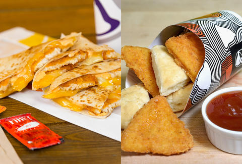 Taco Bell Launches New Crispy Chicken Quesadilla Chicken Biscuits