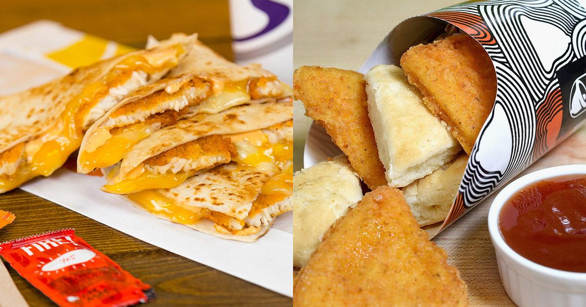 Taco Bell Launches New Crispy Chicken Quesadilla, Chicken -6073
