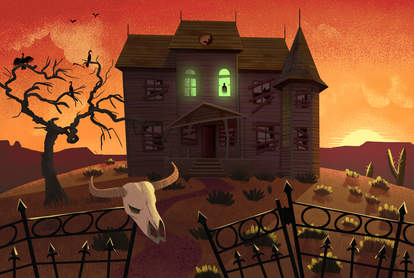 the most haunted places in texas