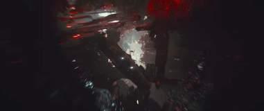 millennium falcon flying through crait last jedi