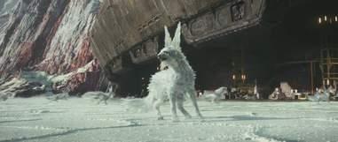 snow fox the last jedi